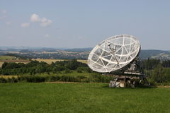 Radio astronomy antenna Stock Images