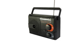 Radio black Stock Image