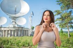 Radio broadcast. Royalty Free Stock Image