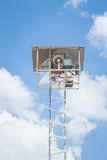 Radio broadcast tower Royalty Free Stock Images