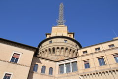 Radio broadcast vatican Royalty Free Stock Image