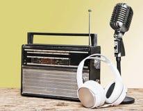 Radio broadcasting Royalty Free Stock Photo