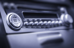 Radio with buttons Stock Photography