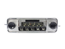 Radio car stock photography