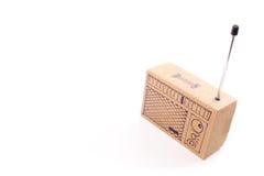 Radio cardboard Royalty Free Stock Photography