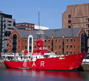 Radio Caroline in Liverpool Stock Image