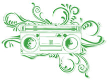 Radio Cassette Royalty Free Stock Photography