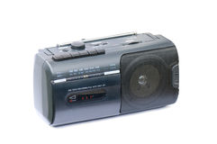 Radio and Cassette Royalty Free Stock Photo