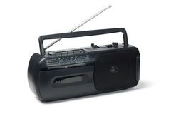 Radio cassette player Stock Photography