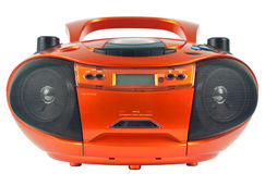 Radio cassetterecorder Stock Foto's