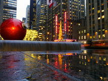 Radio City at Christmas. Radio City, New York December 2014 Stock Images
