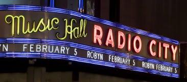 Radio City Hall Royalty Free Stock Image