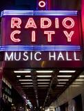 Radio City Hall Royalty Free Stock Photography