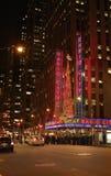 Radio City Hall Christmas New York City USA Royalty Free Stock Image