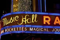 Radio City Marque Royalty Free Stock Photos