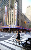 Radio City Music Hall Royalty Free Stock Photo