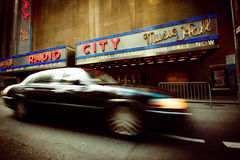 Radio City Music Hall Royalty Free Stock Image