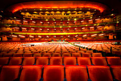 Radio City Music Hall. NEW YORK CITY - JAN 12:  Grand view of seating from orchestra to balcony at Radio City Music Hall in NYC on Jan 12, 2013. This historic