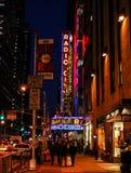 Radio City Music Hall royalty free stock images