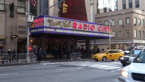 Radio City Music Hall stock video