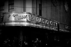 Radio City music hall stock images