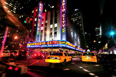 Radio City Music Hall in Manhattan New York Royalty Free Stock Images