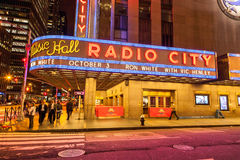 Radio City Music Hall, Manhattan, New York, USA Stock Photo