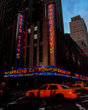 Radio City Music Hall, Manhattan, NYC. Royalty Free Stock Photos