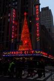 Radio City Music Hall, Manhattan, NYC. stock photo