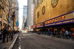 Radio City Music Hall, Manhattan, NYC. stock image