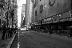 Radio City Music Hall, Manhattan, NYC. stock images