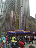 Radio city music hall Stock Image