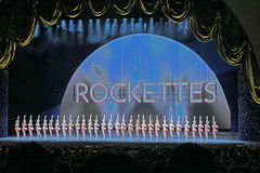 Radio City Music Hall, New York City. 2014 Christmas Spectacular show with the Rockettes stock photos