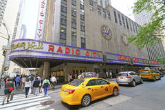 Radio City Music Hall,Rock PLaza, New York City Stock Photo