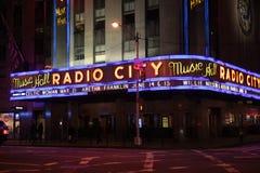 Radio City Music Hall, New York City royalty free stock photos