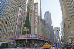 Radio City Music Hall, New York City Royalty Free Stock Images
