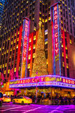 Radio City Music Hall, New York City, USA Stock Photos