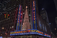 Radio city music hall in new york Stock Photos