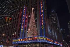 Radio city music hall in new york Stock Photos