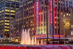 Radio City Music Hall Royalty Free Stock Image