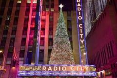 Radio City Music Hall Stock Image
