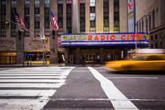 Radio City Music Hall Royalty Free Stock Photography