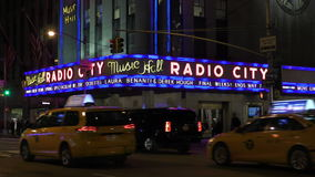 Radio City Music Hall stock footage