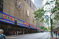 Radio City Music Hall, New York Stock Images