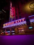 Radio City Music Hall Stock Photography