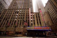 Radio City Music Hall NYC Royalty Free Stock Photography