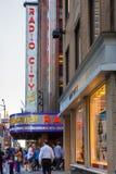 Radio City Music Hall NYC Stock Photos