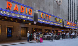 Radio City Music Hall NYC Royalty Free Stock Photos