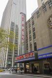Radio City Music Hall in Rockefeller Center Royalty Free Stock Image
