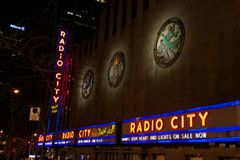 Radio City Royalty Free Stock Photography